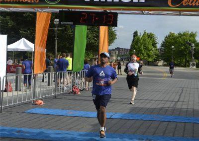 2015 Challenge Columbus 5k Finish
